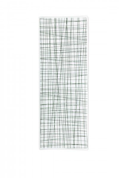 Rosenthal Mesh Line Forest - Platte flach 34x13cm