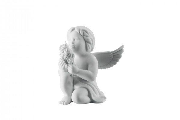 Rosenthal Engel klein - Engel mit Blumen