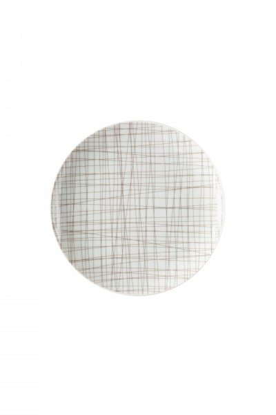 Rosenthal Mesh Line Walnut - Teller flach 19 cm