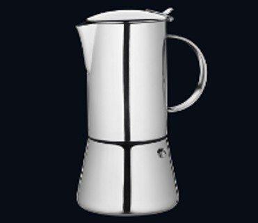 Cilio - Espressokocher AIDA poliert, 2 Tassen