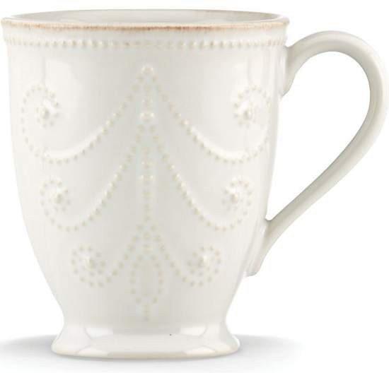 LENOX French Perle weiss Mug 295 ml