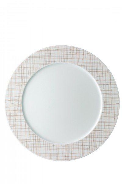 Rosenthal Mesh Line Walnut - Teller flach 32cm/Fa