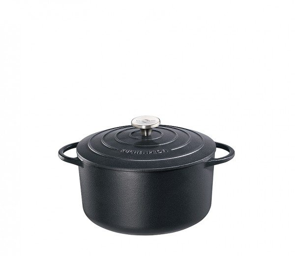 Küchenprofi - Bratentopf rund, 26 cm schwarz PROVENCE