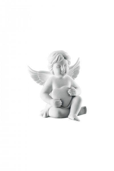 Rosenthal Engel klein - Engel mit Herz