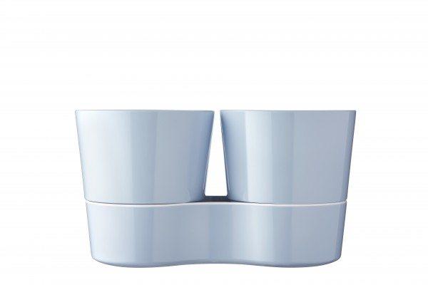 Mepal - Hydro Kräutertopf Twin - Nordic Blue