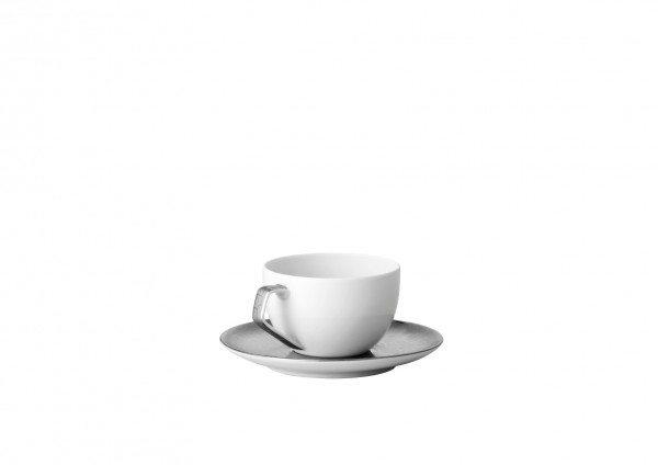 Rosenthal TAC Skin Platin - Espressotasse 2tlg.