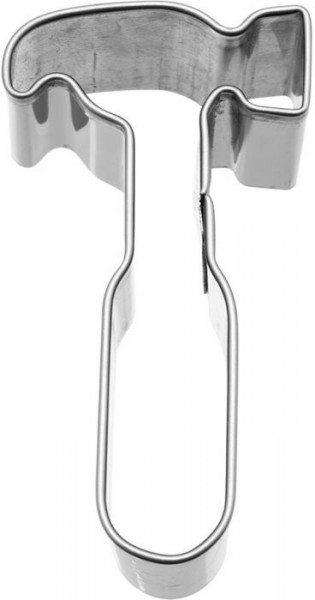 Birkmann - Ausstechform Hammer, Edelstahl, 6 cm