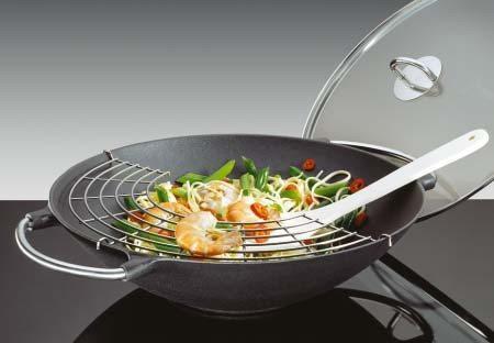 Küchenprofi - Wok-Set PREMIUM 36 cm