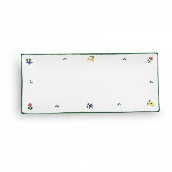 Gmundner Streublumen - Platte rechteckig (36x15cm)
