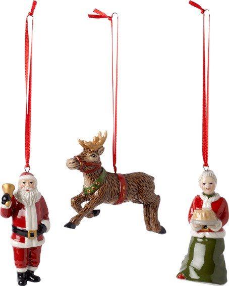 Villeroy&Boch Nostalgic Ornaments - Ornam.North P. Exp.S3tlg