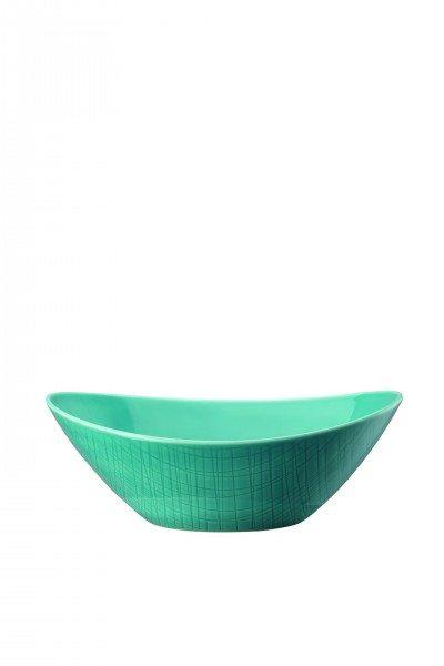 Rosenthal Mesh Aqua - Schale oval 24x18 cm