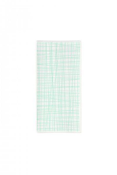 Rosenthal Mesh Line Aqua - Platte flach 26x13cm