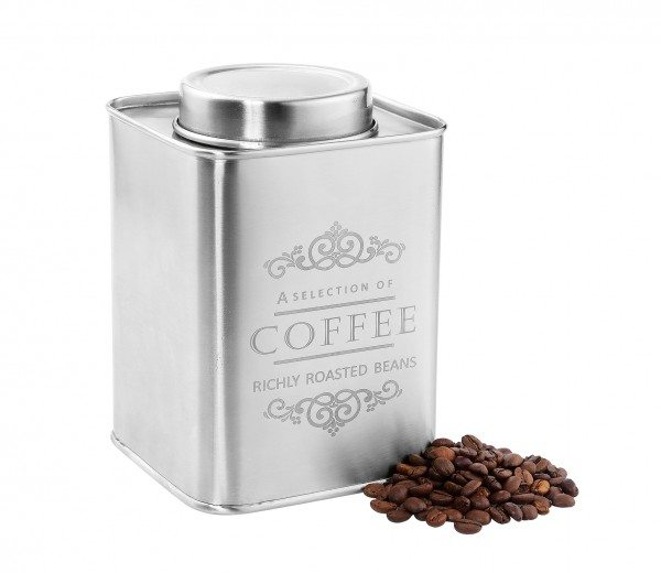 "Zassenhaus - Vorratsdose ""COFFEE"", Edelstahl 500 g"