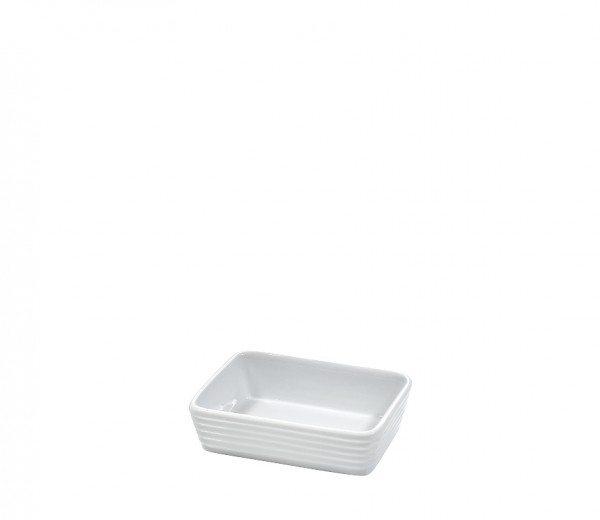 Küchenprofi - Auflaufform rechteckig 12cm BURGUND