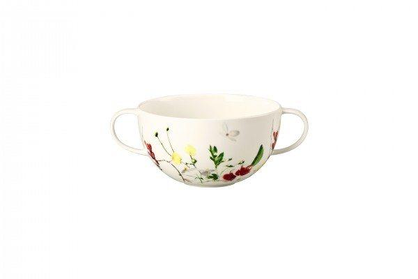 Rosenthal Brillance Fleur Sauvage - Suppen-Obertasse