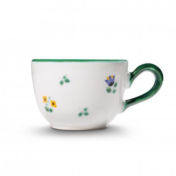 Gmundner Streublumen - Kaffeetasse glatt (0,19L)