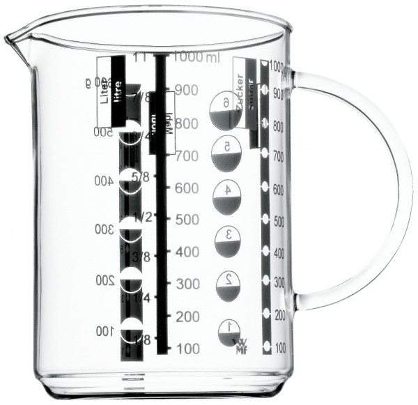 WMF - Messbecher 1,0L zyl.