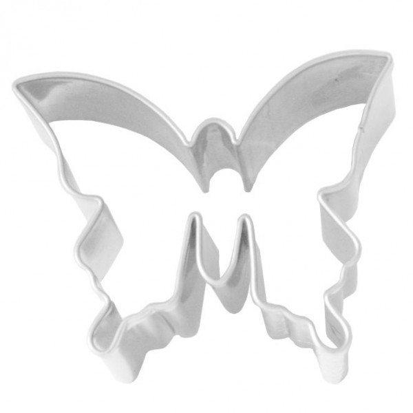 Birkmann - Ausstechform Schmetterling, Edelstahl, 4 cm