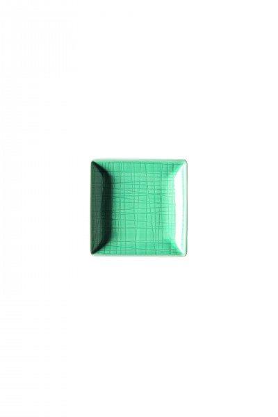 Rosenthal Mesh Aqua - Schale quadr. 10 cm
