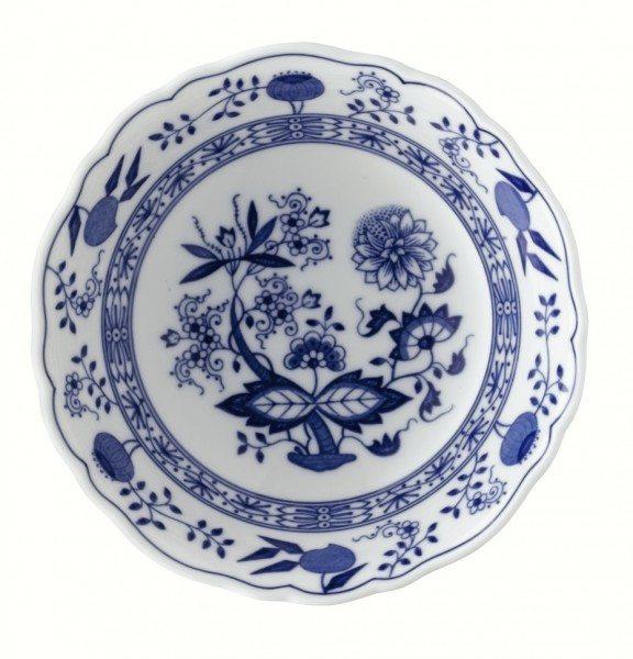 Hutschenreuther Blau Zwiebelmuster - Dessertschale 16 cm