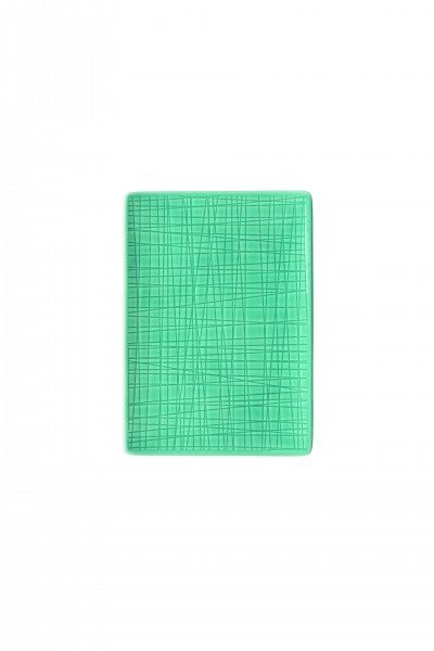 Rosenthal Mesh Aqua - Platte flach 18x13 cm