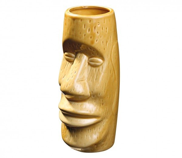 Cilio - Tikibecher MOAI gelb