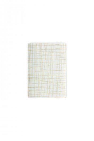 Rosenthal Mesh Line Cream - Platte flach 18x13cm