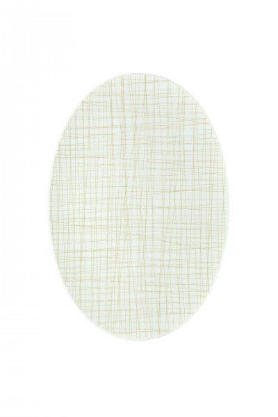 Rosenthal Mesh Line Cream - Platte 34 cm