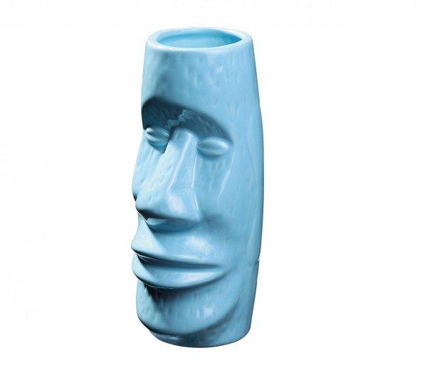 Cilio - Tikibecher MOAI blau