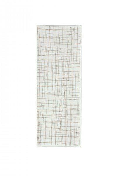 Rosenthal Mesh Line Walnut - Platte flach 34x13cm