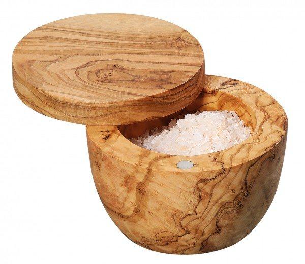 Zassenhaus - Salz-/Gewürztopf, Olivenholz Ø 9 cm