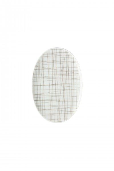 Rosenthal Mesh Line Walnut - Platte 18 cm