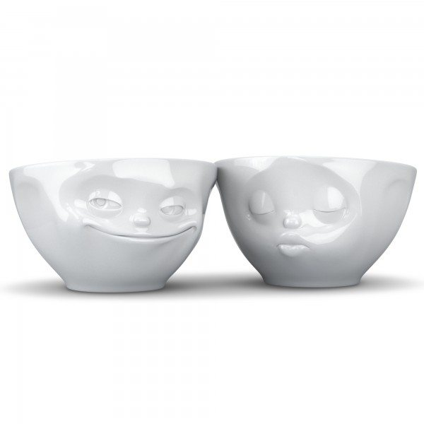 Fiftyeight Products - Schale 200ml Set 1 - Kuss + Grinsend