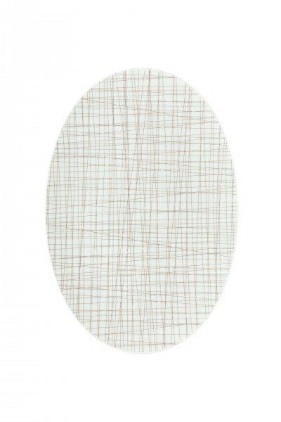 Rosenthal Mesh Line Walnut - Platte 34 cm