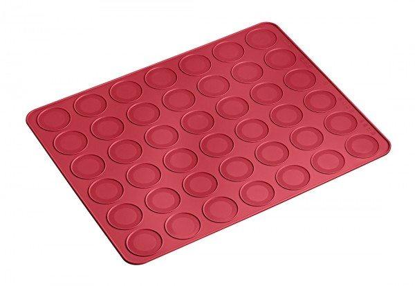 Lurch - Flexiform Backmatte Macaron 38x30cm ruby