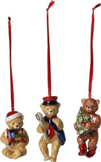 Villeroy&Boch Nostalgic Ornaments - Ornamente Teddy 3tlg.