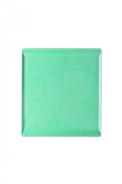 Rosenthal Mesh Aqua - Platte flach 26x24 cm