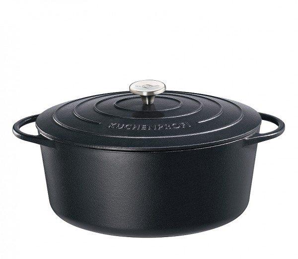 Küchenprofi - Bratentopf oval, 40 cm schwarz PROVENCE