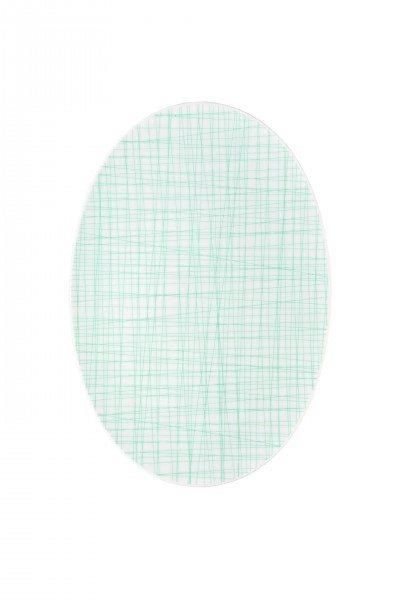 Rosenthal Mesh Line Aqua - Platte 34 cm