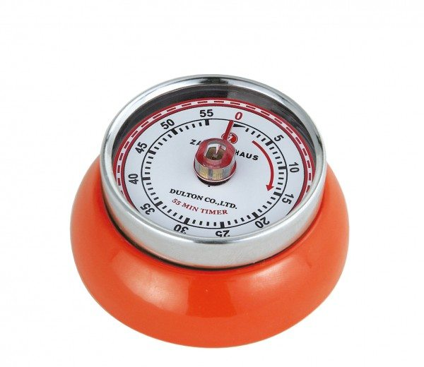 """Zassenhaus - Küchentimer """"Speed"""", orange"""