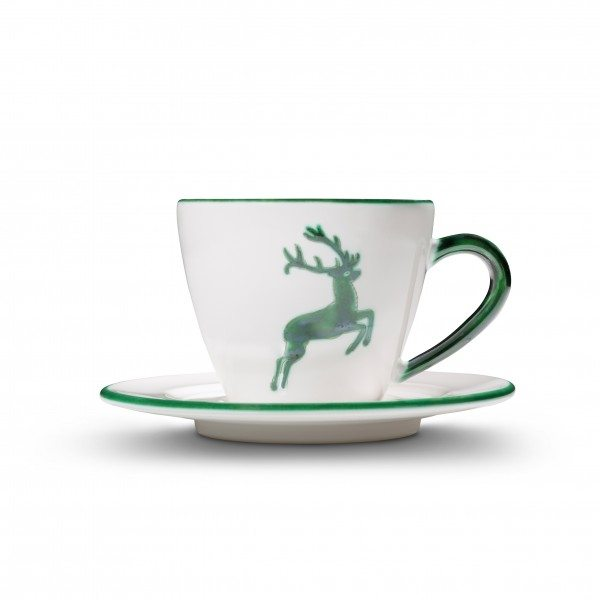 Gmundner Grüner Hirsch - Kaffeetasse Gourmet (0,2L)