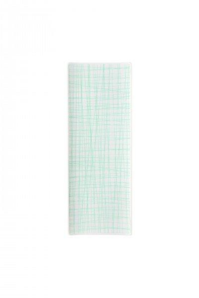 Rosenthal Mesh Line Aqua - Platte flach 34x13cm