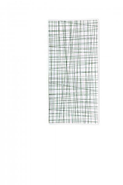 Rosenthal Mesh Line Forest - Platte flach 26x13cm