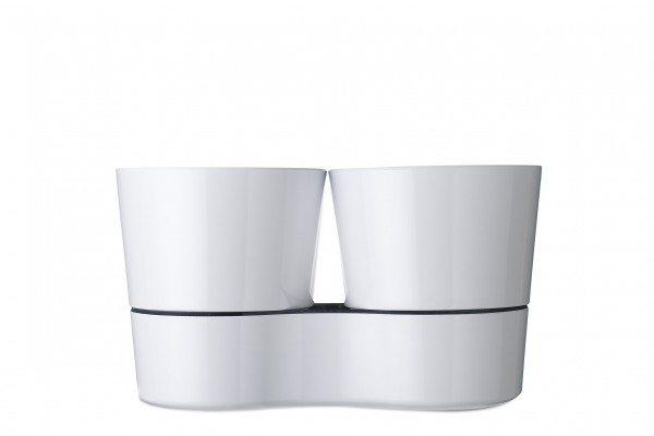Mepal - Hydro Kräutertopf Twin - Weiß