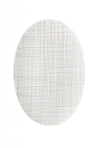 Rosenthal Mesh Line Walnut - Platte 42 cm