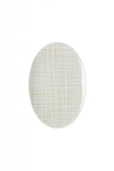 Rosenthal Mesh Line Cream - Platte 25 cm