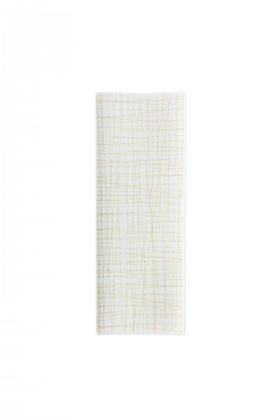 Rosenthal Mesh Line Cream - Platte flach 34x13cm