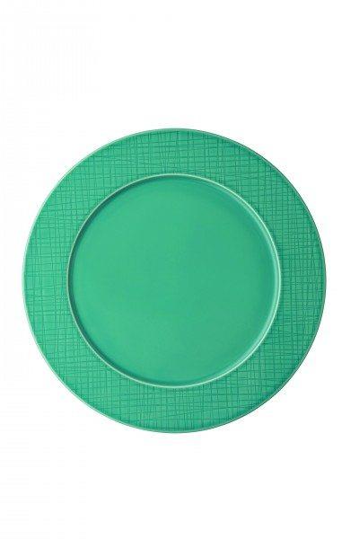 Rosenthal Mesh Aqua - Teller flach 32 cm/Fahne