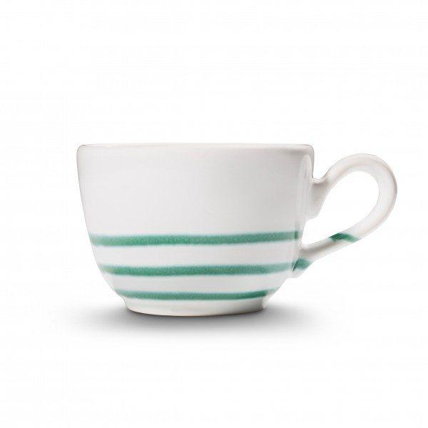 Gmundner Pur Geflammt Grün - Kaffeetasse glatt (0,19L)