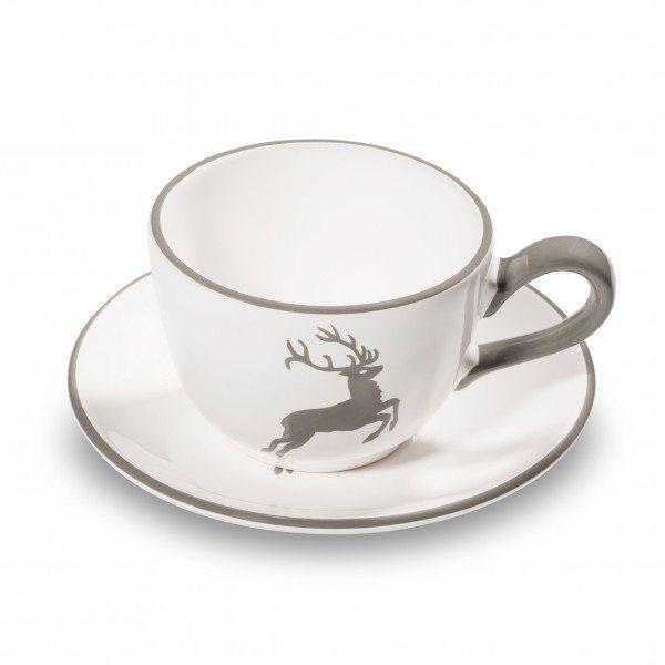 Gmundner Grauer Hirsch - Kaffeetasse glatt (0,19L)